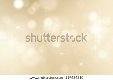 bright golden sparkles - stock photo