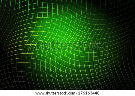 Bright green abstract background - stock photo