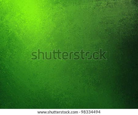 bright green background with old black and light shading border design with vintage grunge background texture, solid dark abstract background luxury art for web template, Christmas background or eco - stock photo