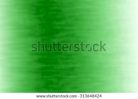 Bright green background with reflection