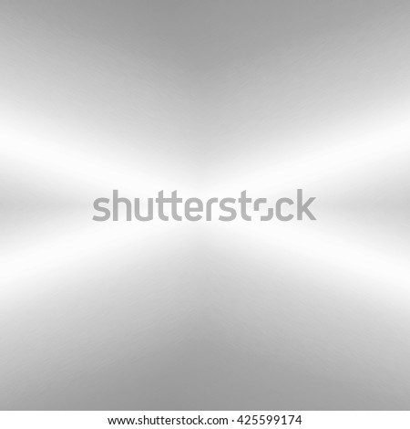 bright grey background texture abstract lines of light and subtle grid pattern - stock photo