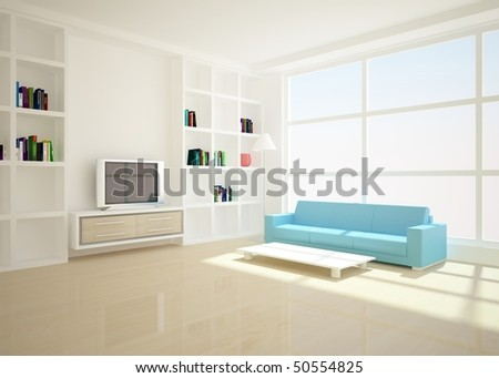 bright interior composition