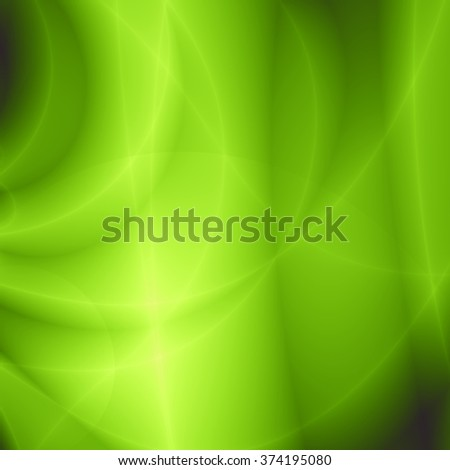 Bright leaf abstract nature green background - stock photo