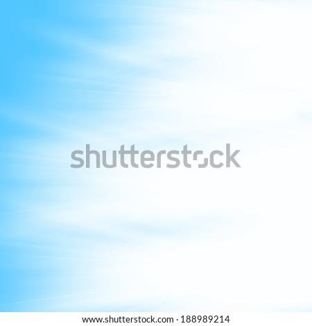 Bright light on blue - stock photo