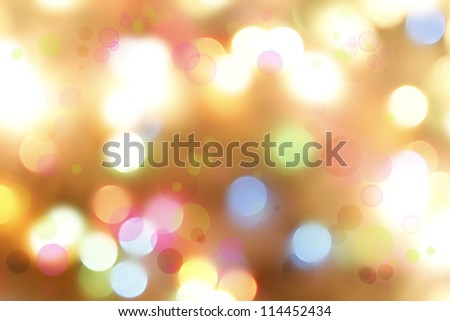 Bright lights on colorful background. - stock photo