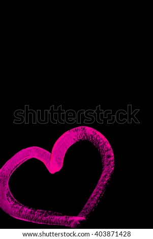 Bright neon glows under ultraviolet cosmetics. - stock photo