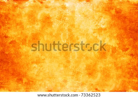 bright orange background - stock photo