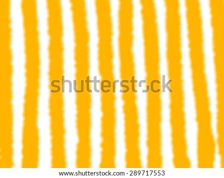 Bright orange background with reflection