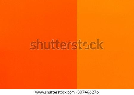 Bright Orange Paint bright orange painted walls two shades stock photo 307466276