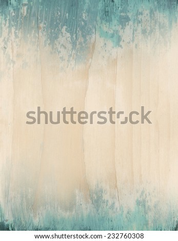 Bright, painted wood board, as background