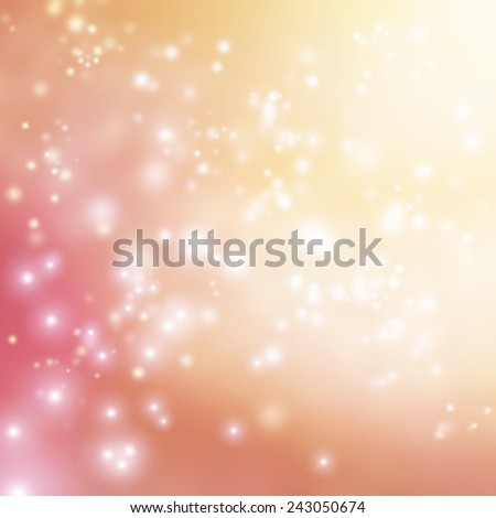 Bright pink small lights abstract gradient background - stock photo