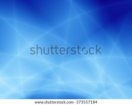 Bright power blue high technology pattern design - stock photo