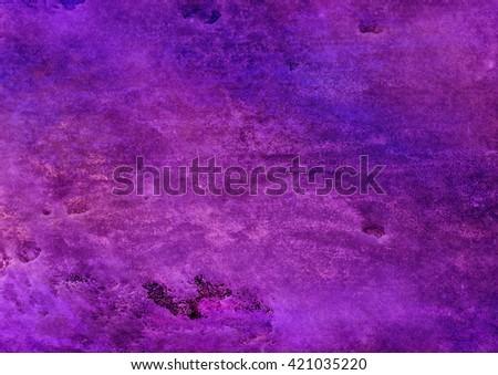 bright purple watercolor background - stock photo