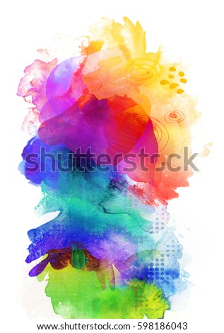 rainbow paint stock images royaltyfree images amp vectors