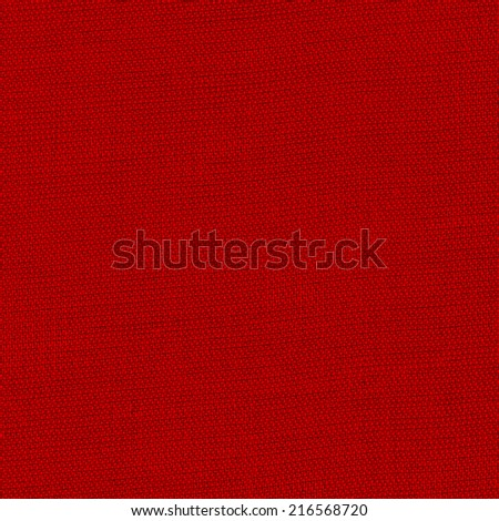 bright red fabric texture.