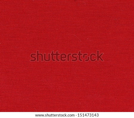 bright red fabric texture can be used as background