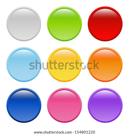 bright round buttons (raster version of the vector)