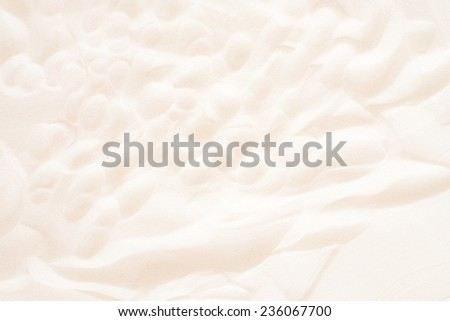 bright sand surface
