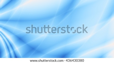 Bright sky abstract turquoise blue template background - stock photo