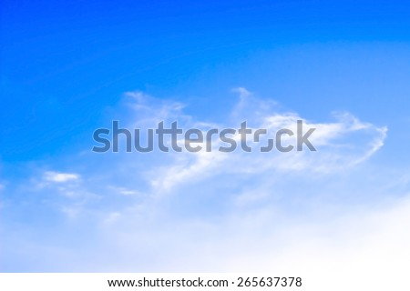 Bright sky background - stock photo