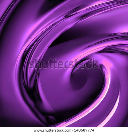bright violet chrome as background - stock photo