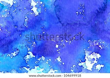 Bright Watercolor Series 7 - stock photo
