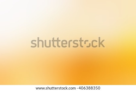 Bright yellow frosted blur background. Silky texture. Festive background. - stock photo