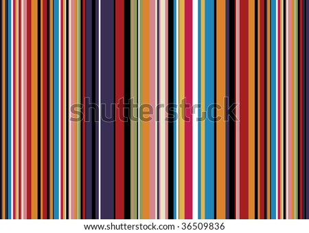 Brightly coloured abstract background with candy coloured stripes