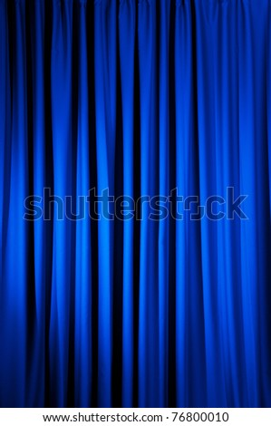 Brightly lit curtains for your background