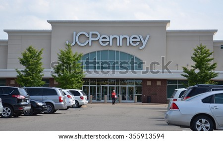BRIGHTON, MI - AUGUST 22: J. C. Penney, whose Brighton, MI store is shown August 22, 2015, has over 1,000 stores.