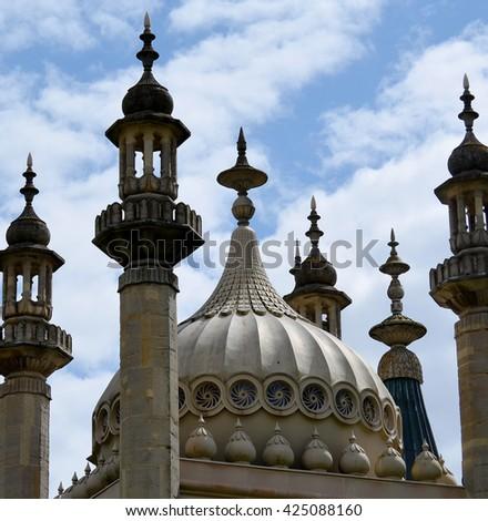Brighton Pavilion Architecture - stock photo
