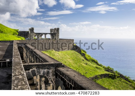 Brimstone Hill Fortress in St. Kitts