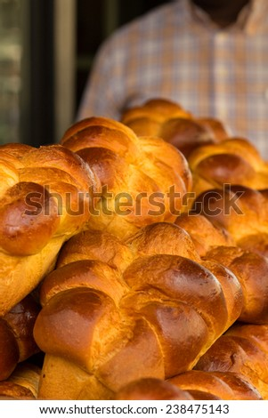 Brioches - a tasty traditional French breakfast pastry
