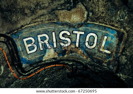 Bristol, colorful writing