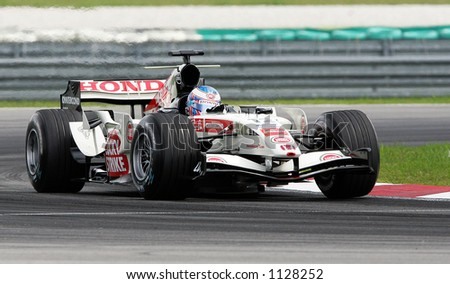 British Formula One driver Jenson Button of Lucky Strike Honda Racing Team, 2006