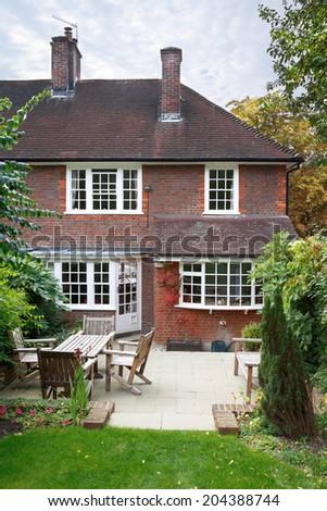 British home - stock photo