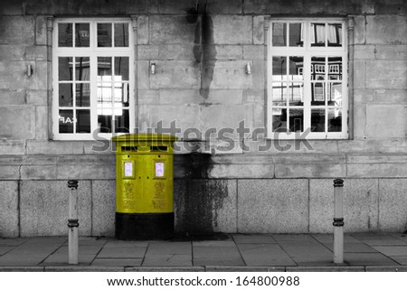 British Letterbox (yellow)