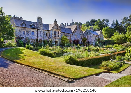 British Mansion - stock photo