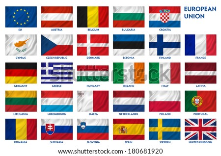 British national flag background texture. - stock photo