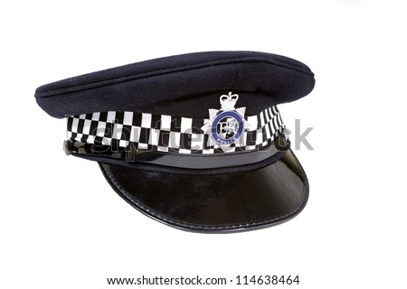 british police flat cao - stock photo