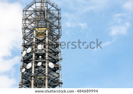 Broadcasting tower of Japan