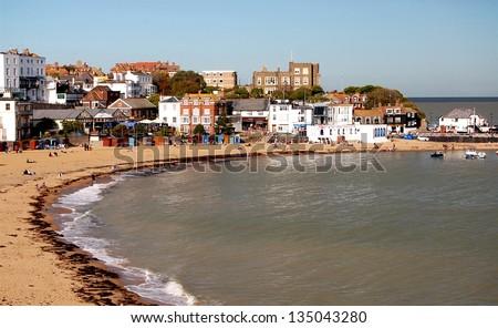 Broadstairs Beach, Kent, England - stock photo