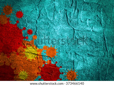 Brochure, report or flyer design background. Medical industry, biotechnology and biochemistry. Scientific medical designs.  Virus diseases relative theme. Concrete textured - stock photo