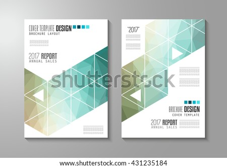 Flyer Design Layout Template Vector Brochure Stock Vector