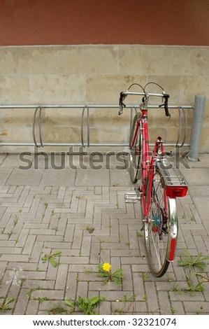 Broken Bicycle - stock photo
