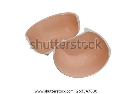 broken bowl  - stock photo