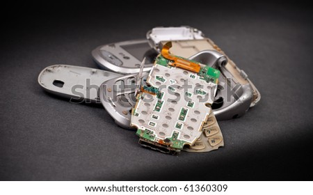 Broken Cell Phone Parts