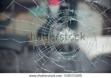 Broken glass for background pattern
