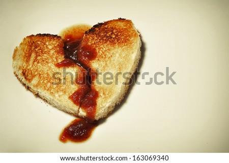 Broken hearted - stock photo