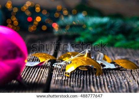 Christmas Tree Decoration Baubles Stock Images, Royalty-Free ...